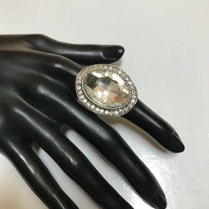Big CZ stone ring